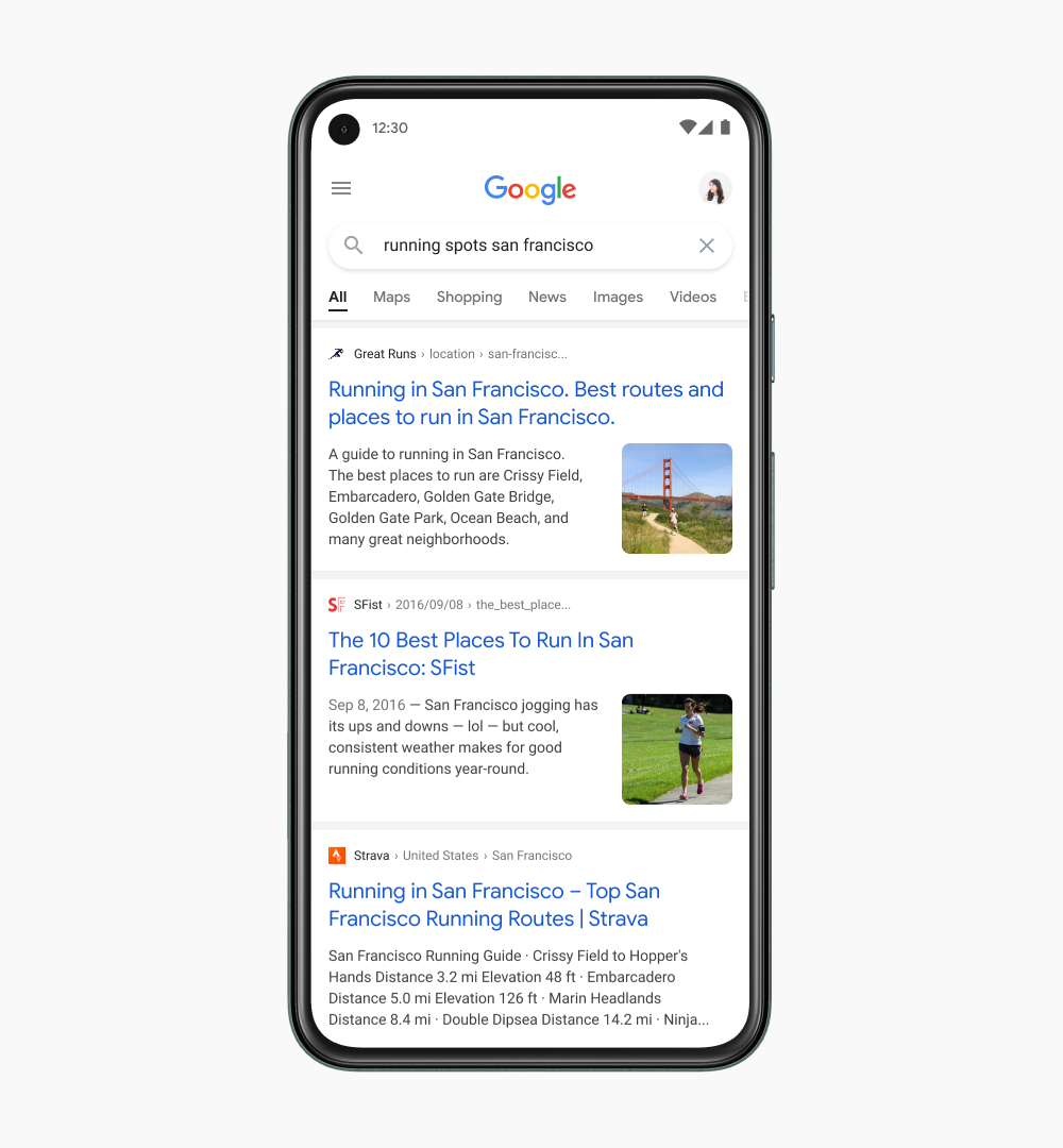 Google Search is getting a revamped design on mobile