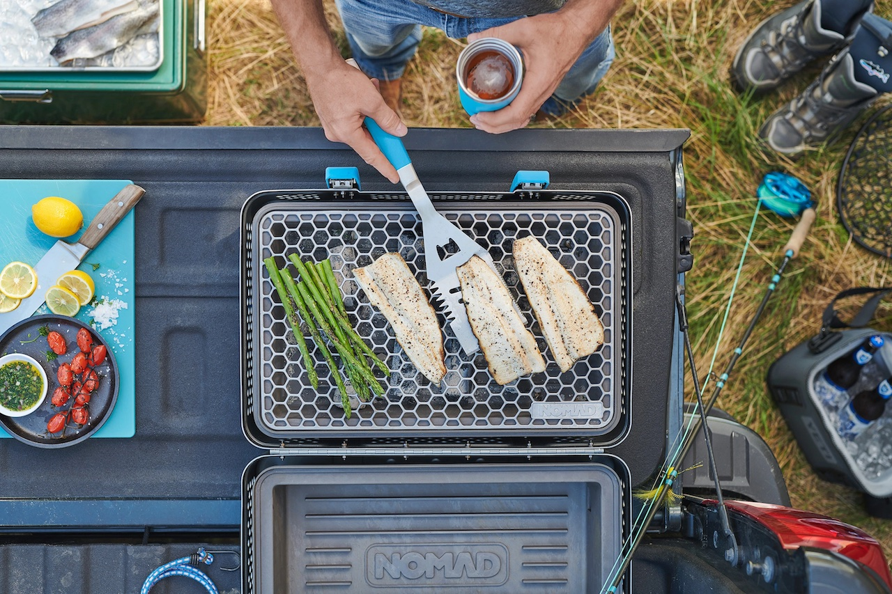 Nomad's charcoal grill suitcase is modern ingenuity combined with classic cooking – TechCrunch 4