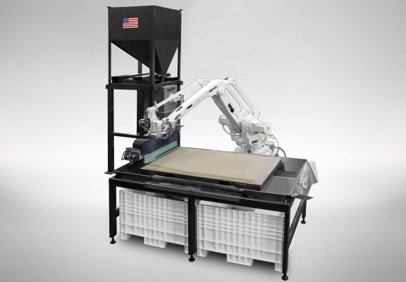 Robotic additive manufacturing technology