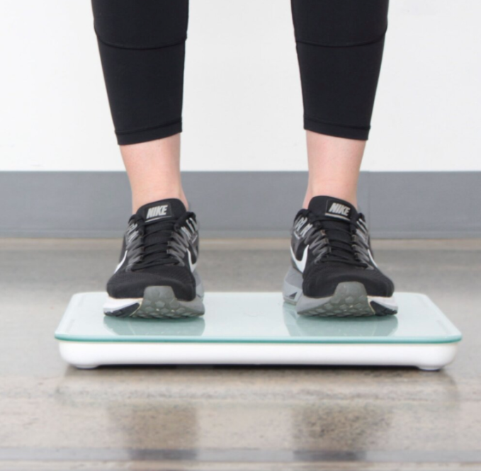 Zibrio's smart scale for assessing postural stability, or balance