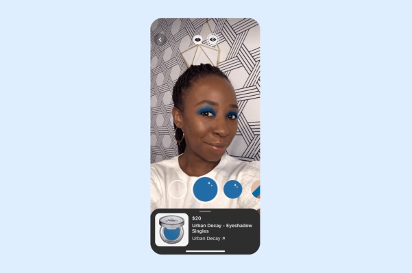 Pinterest launches an AR-powered Try-on experience for eyeshadow - techcrunch