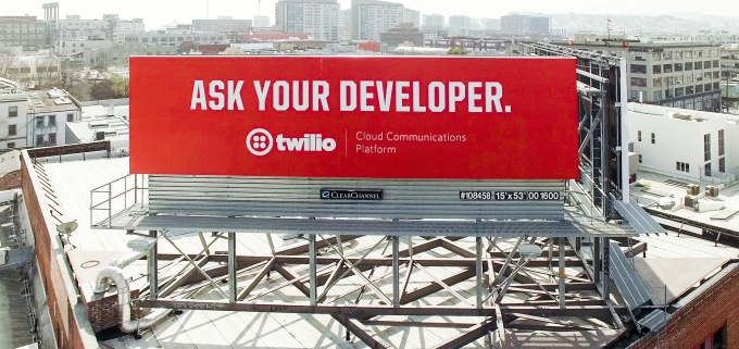 Billboard for book Ask your Developer by Jeff Lawson, CEO of Twilio