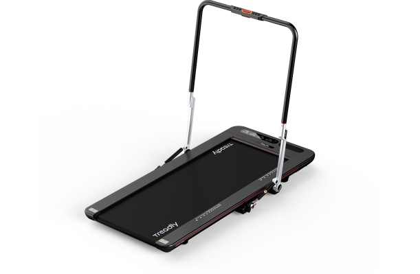 Treadly's next-gen compact treadmill is ideal for small spaces and features app-based social workouts