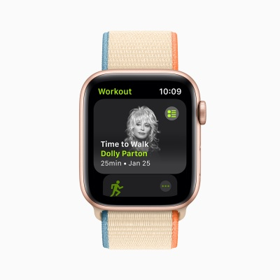 Apple's new Fitness+ feature brings celebrity-guided walks to your wrist - techcrunch