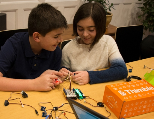 Thimble teaches kids STEM skills with robotics kits combined with live Zoom classes