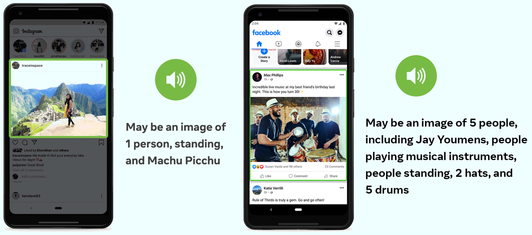 techcrunch.com - Devin Coldewey - Facebook and Instagram's AI-generated image captions now offer far more details