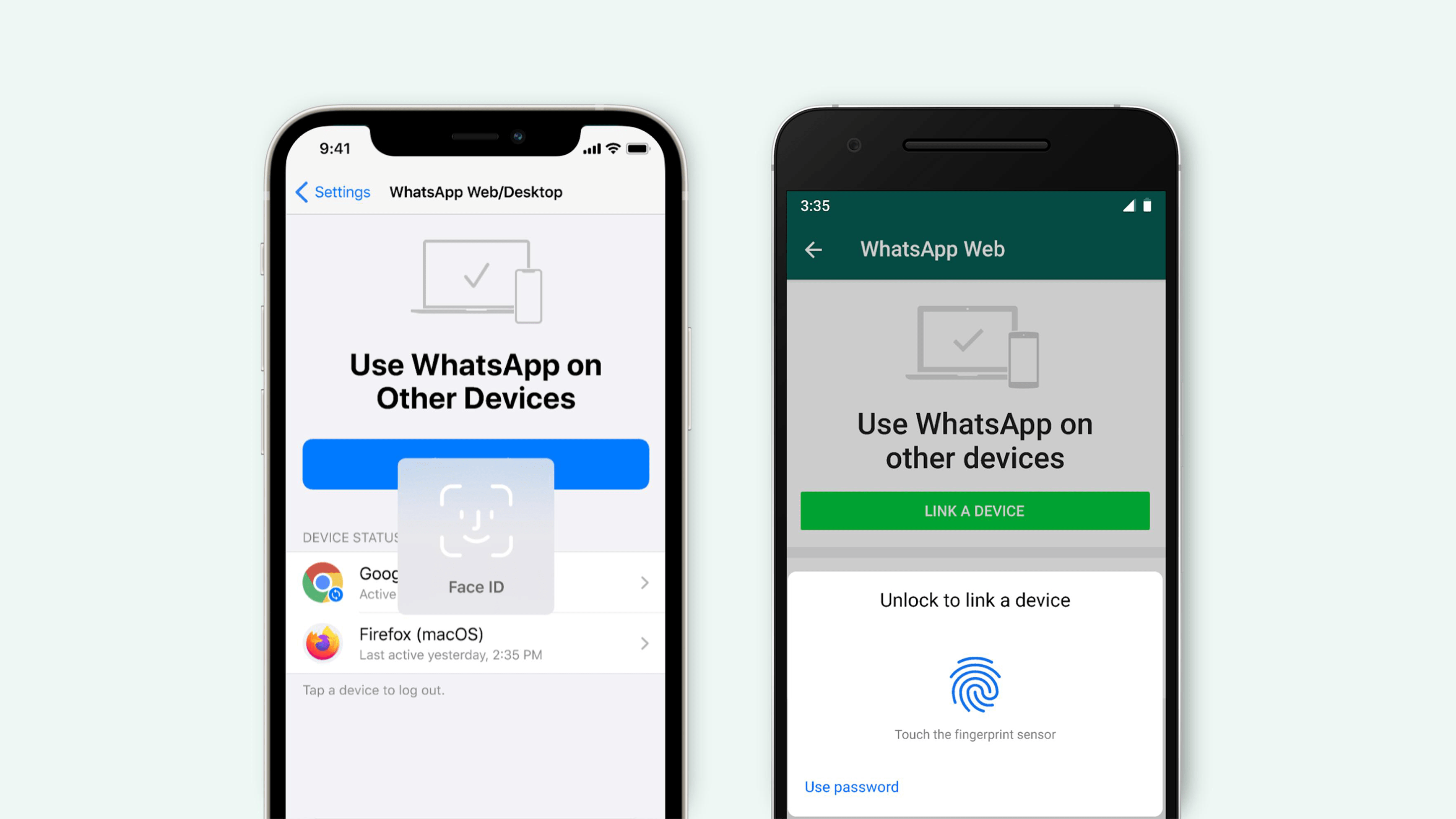 Whatsapp Adds Biometric Authentication To Its Web And Desktop Versions Techcrunch