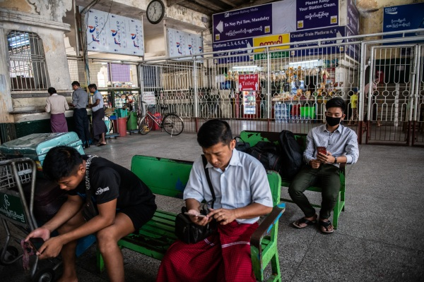 Myanmar military government orders telecom networks to temporarily block Facebook – TechCrunch GettyImages 1207646966