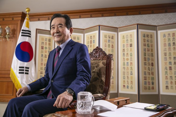 South Korean Prime Minister Chung Sye-kyun Interview