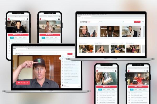 Live video shopping startup Talkshoplive raises $3M
