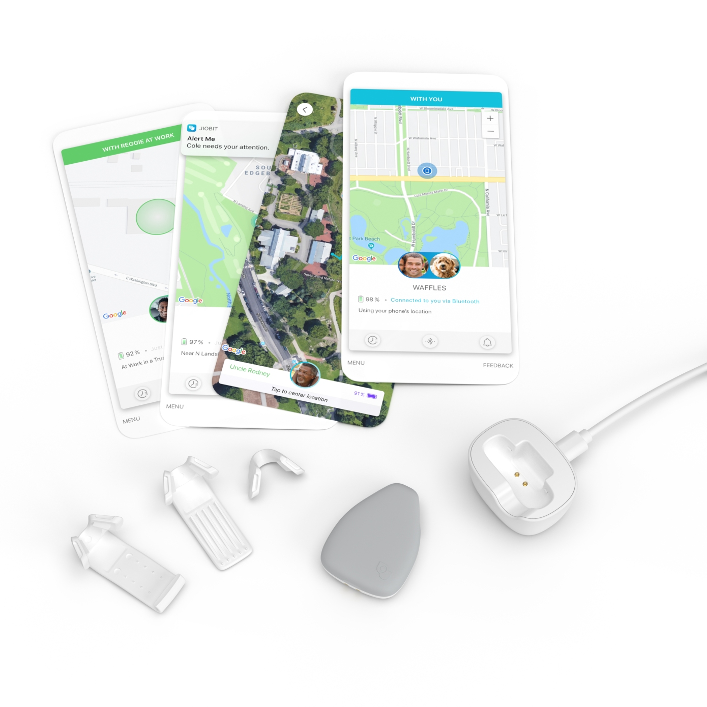Tracking app Life360 buys wearable location device Jiobit for $37M