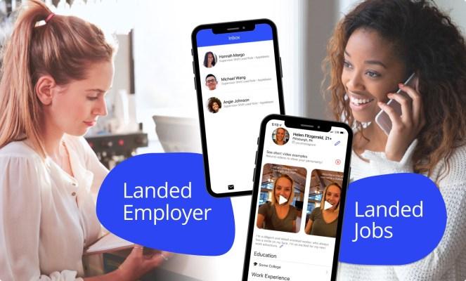 Hourly job-matching startup Landed raises $1.4M