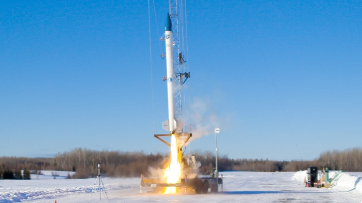 bluShift Aerospace launches its first rocket powered by biofuels