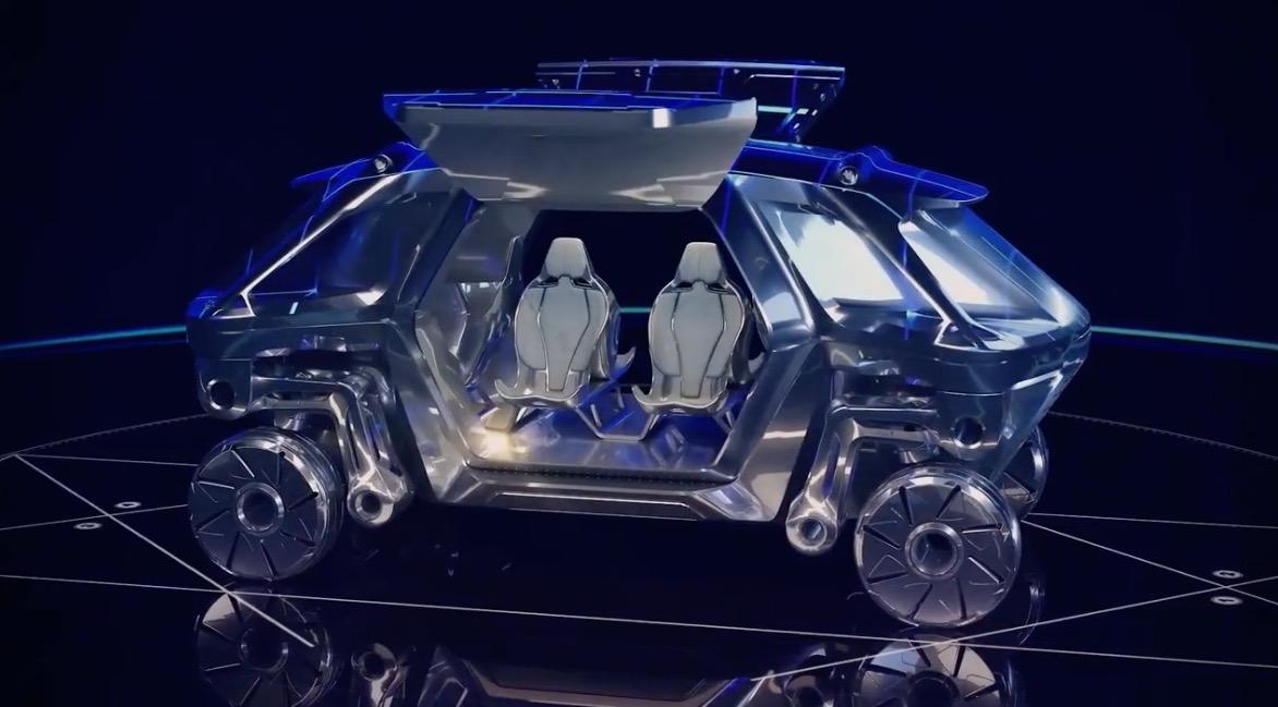 Hyundai walking elevate robot