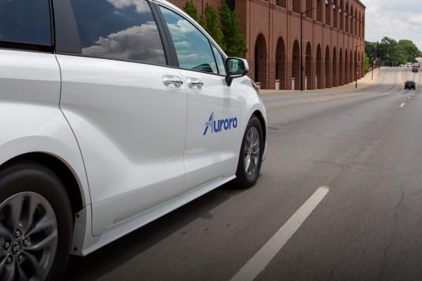 Aurora strikes deal with Toyota, Denso to develop, test self-driving Sienna minivans