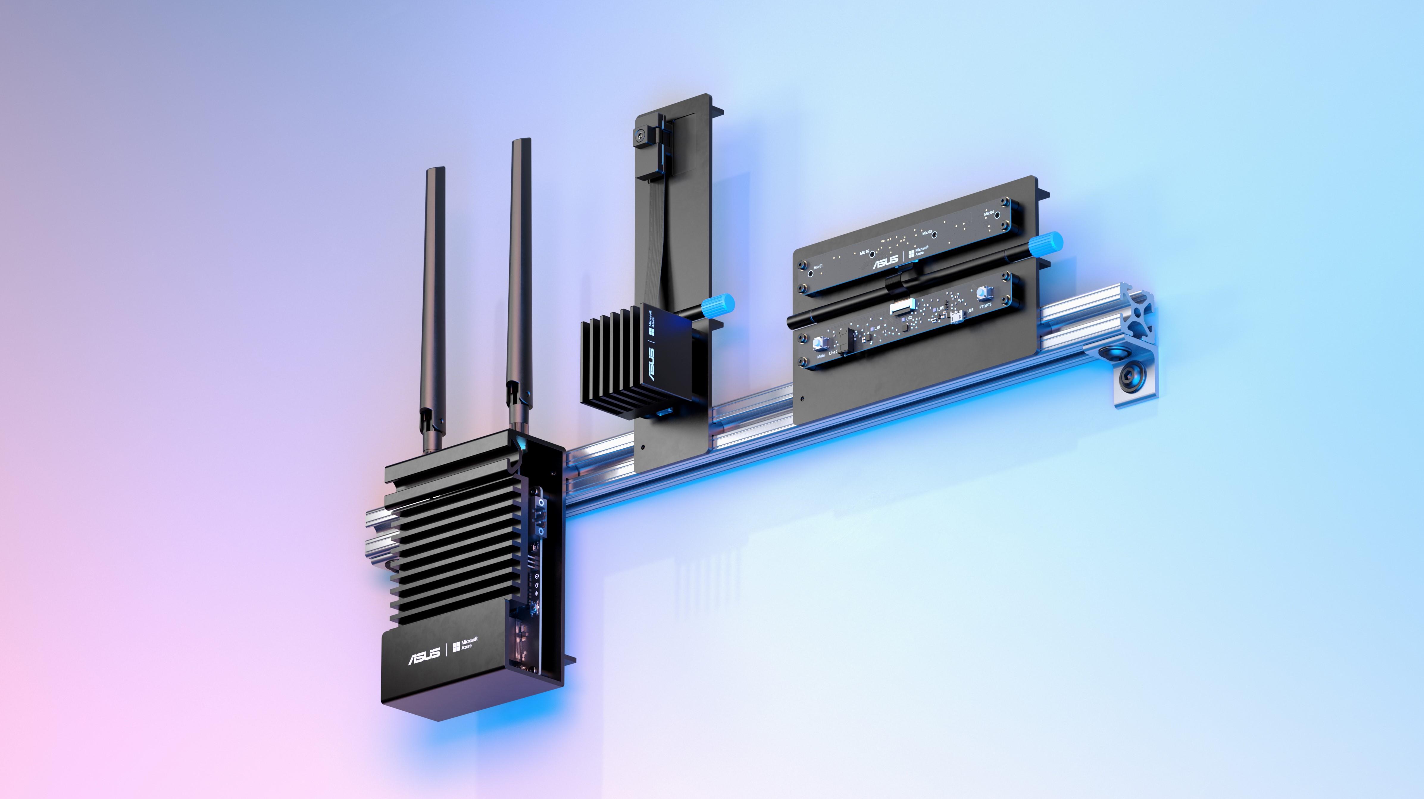 Azure Percept devices, including Trust Platform Module, Azure Percept Vision and Azure Percept Audio