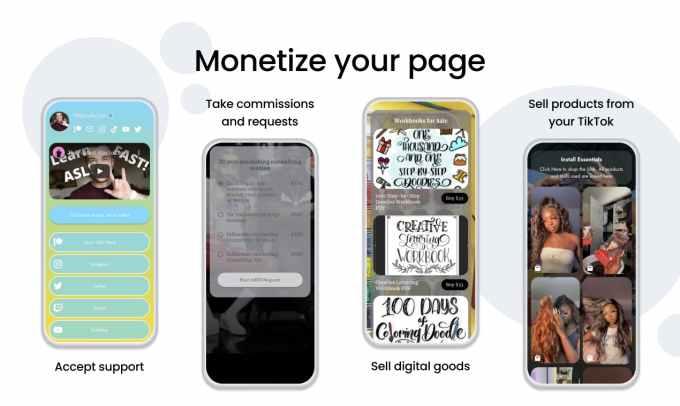 Beacons debuts a 'link in bio' mobile website builder that helps creators make money, not just list links – TechCrunch beacons monetize