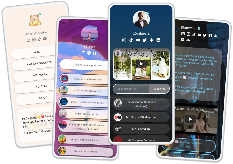 Beacons raises $6 million for its link-in-bio homepage builder that lets creators monetize