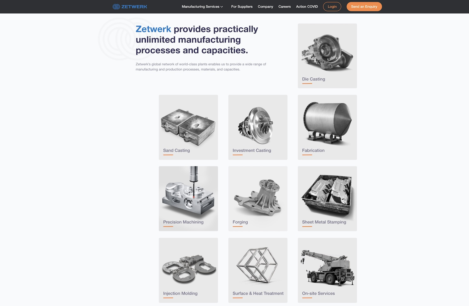 India's Zetwerk raises $120 million to scale its B2B marketplace for manufacturing parts – TechCrunch zetwerk website