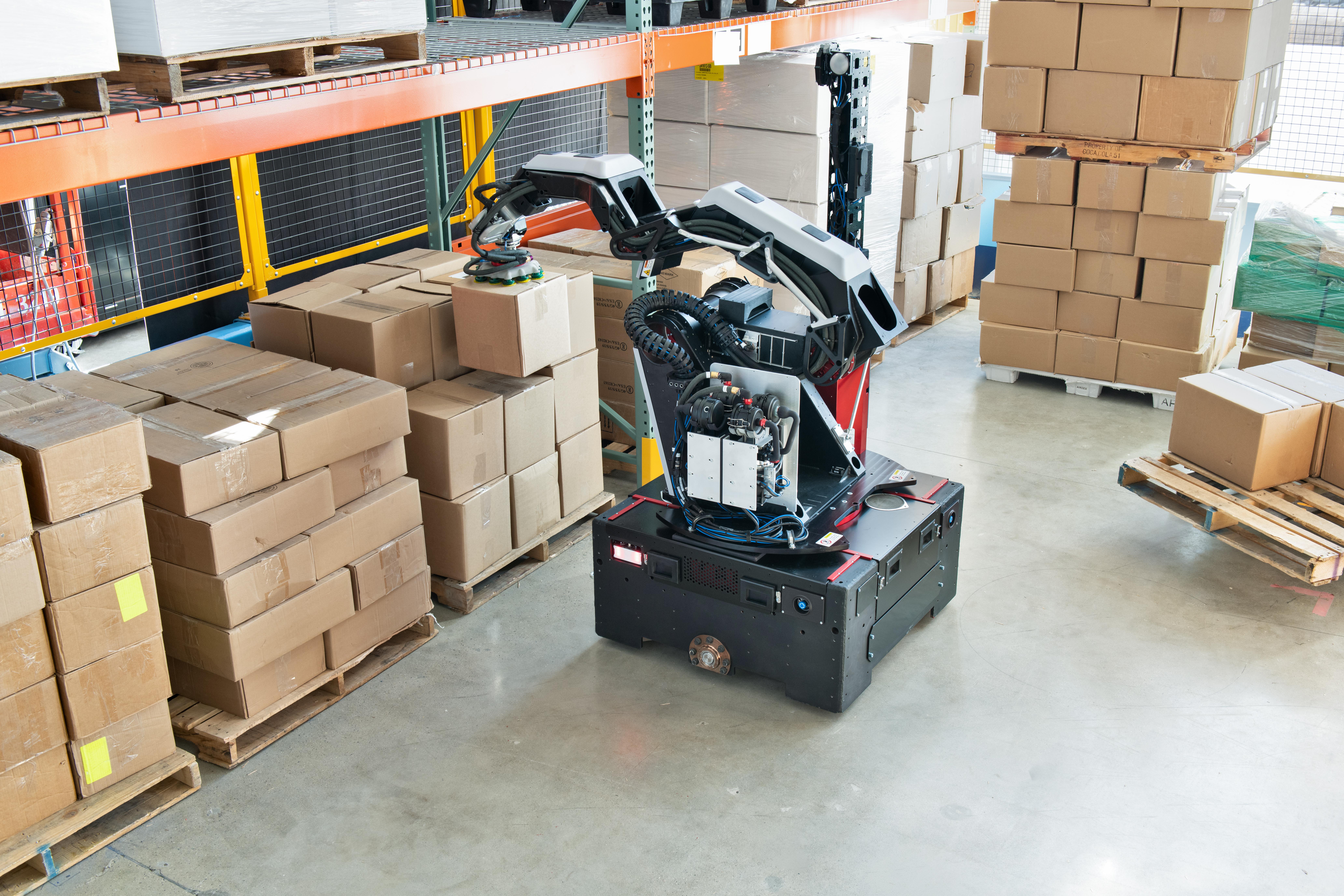 Stretch - новый складской робот от Boston Dynamics