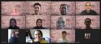 A Zoom screenshot showing members of financial API startup Brick's team