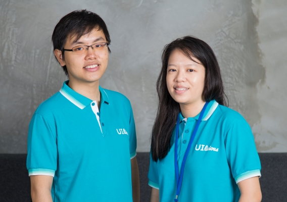 From left to right  eugene cheah cto and co founder and shi ling tai ceo and co founder