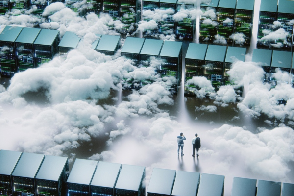 <p>Cloud infrastructure spending passed on-prem Information centers in 2020 thumbnail