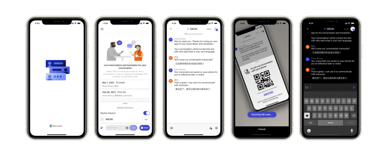 Microsoft launches 'Group Transcribe,' a transcription and translation app for in-person meetings - TechCrunch