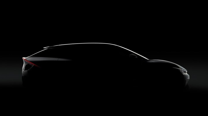 Kia's electric vehicle plans take shape with EV6 teaser, new naming strategy