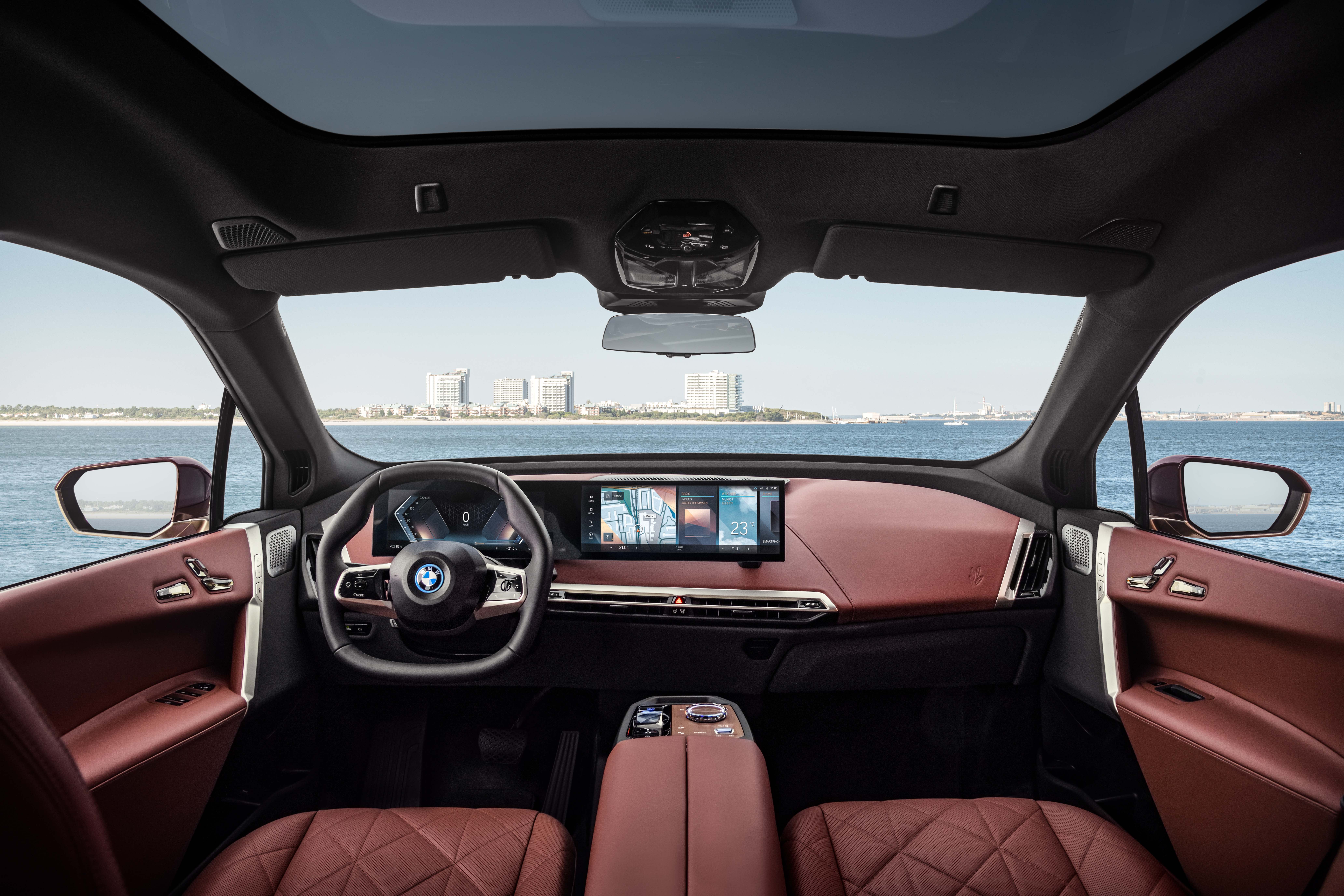 BMW debuts the next generation of its iDrive operating system