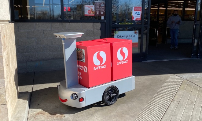 Albertsons taps Tortoise for remote-controlled grocery delivery robots - techcrunch