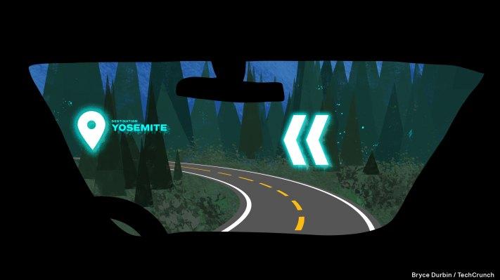 Hologram car interface