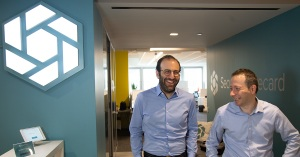 SecurityScorecard founders at their office in New York City