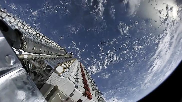 Starlink-спутники-на-орбите
