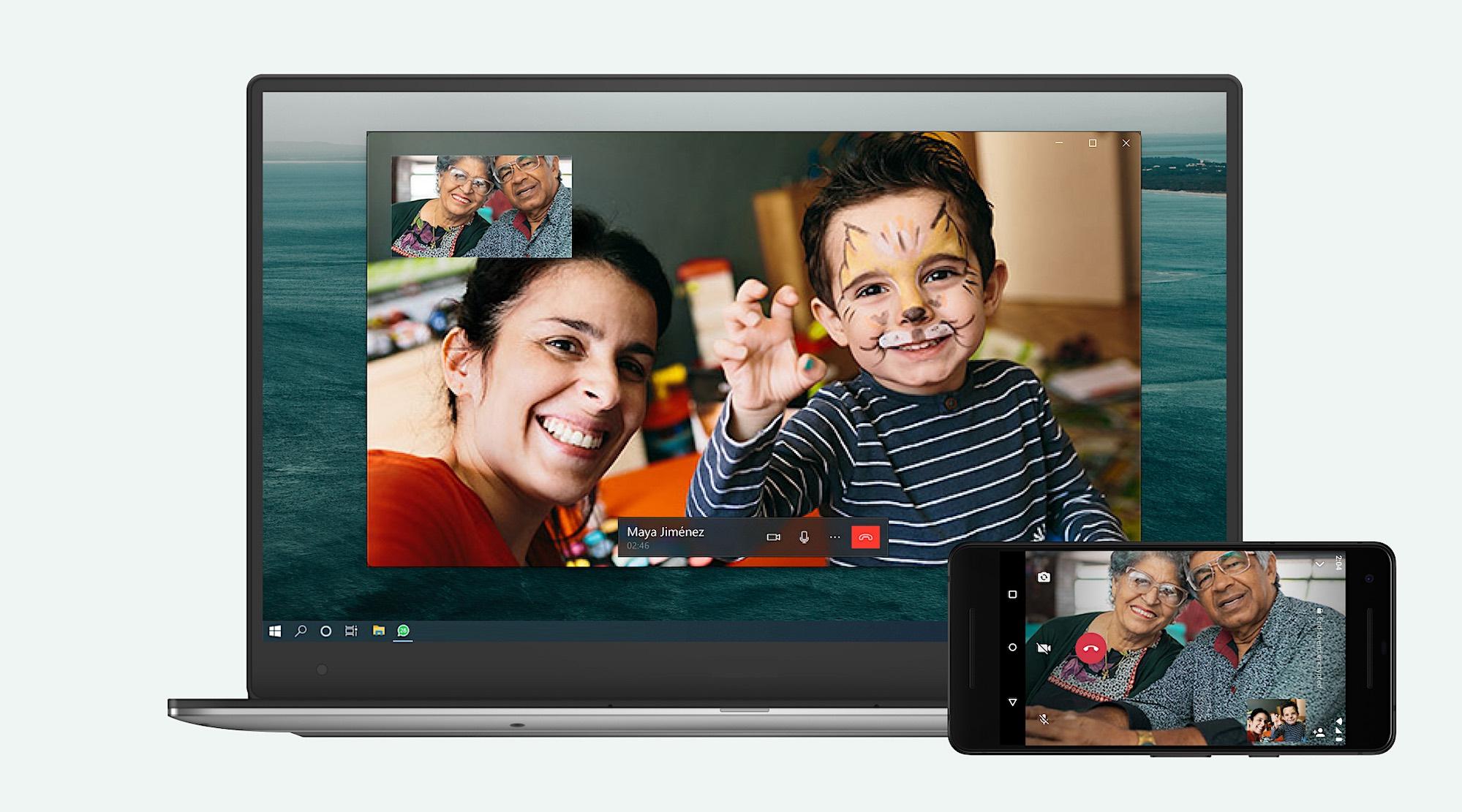 WhatsApp adds voice and video calling to desktop app | TechCrunch