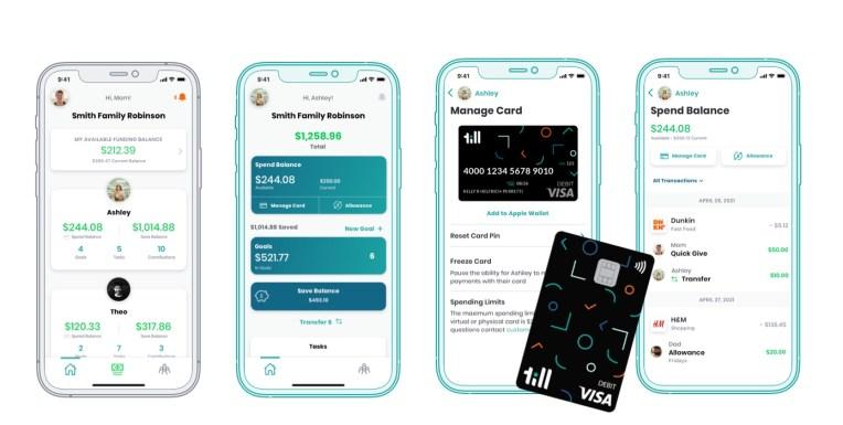 Forget the piggy bank, Till Financial's kids' spend management app gets Gates' backing