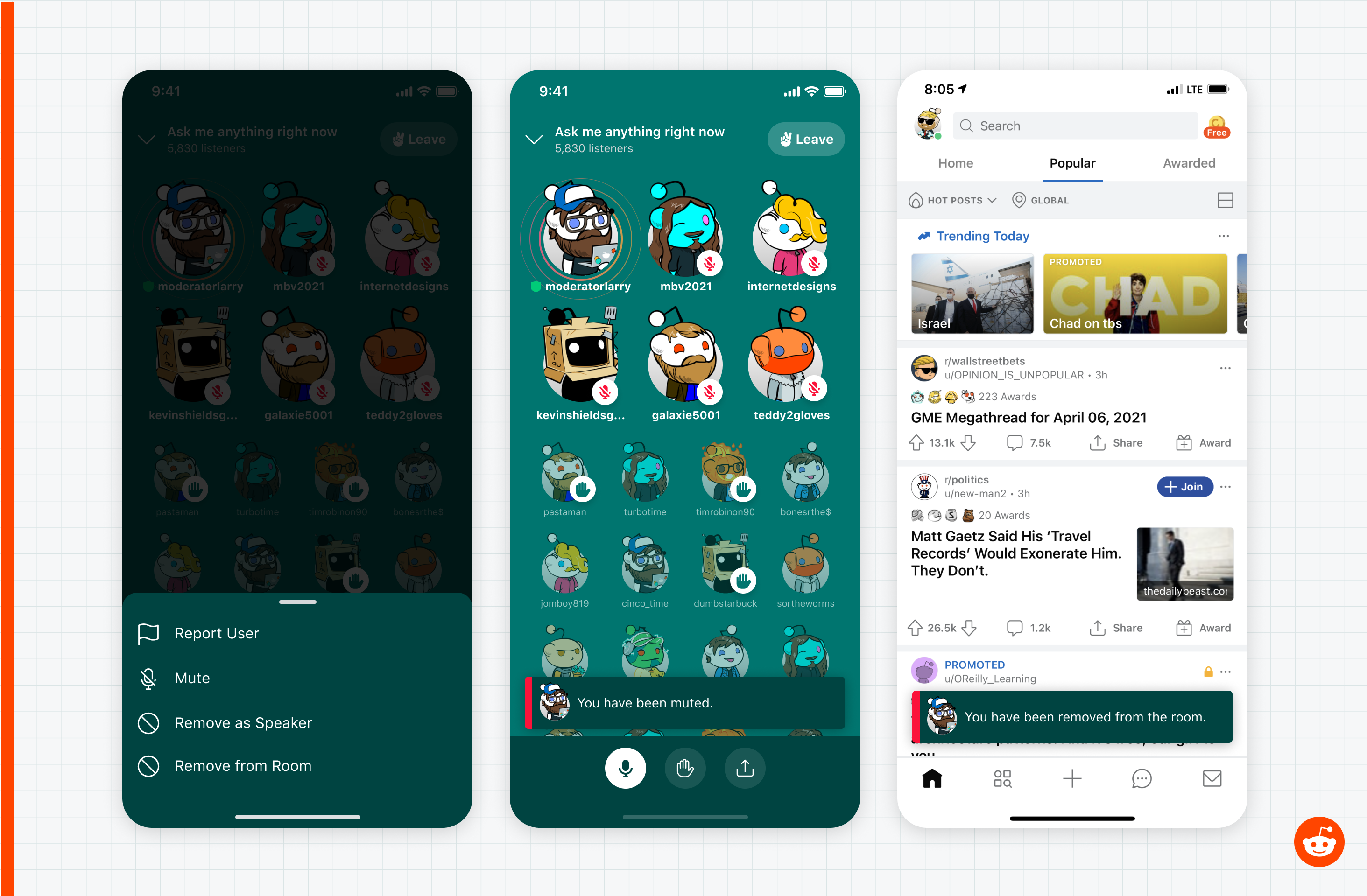 Reddit unveils its Clubhouse clone, Reddit Talk