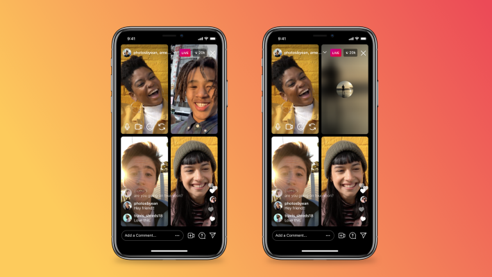 Instagram Live takes on Clubhouse with options to mute and turn off the video – TechCrunch
