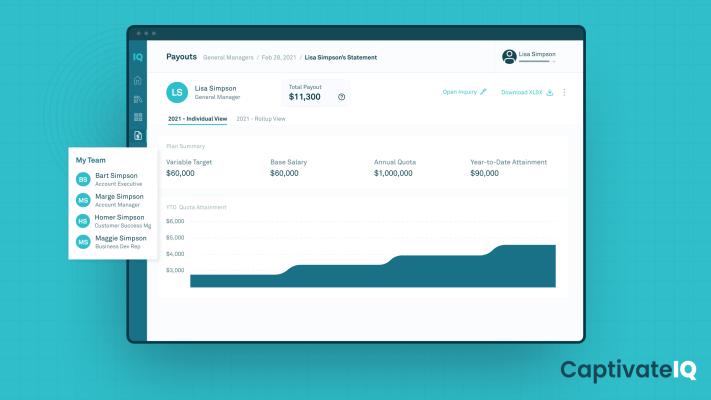 CaptivateIQ raises $46M for its no-code sales commissions platform