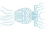 Deep learning artificial neural networks that form shape as human brain. Neural network handles data on input and gives result on output