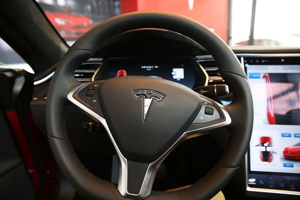 No one behind the wheel in deadly Tesla crash Saturday night, say authorities