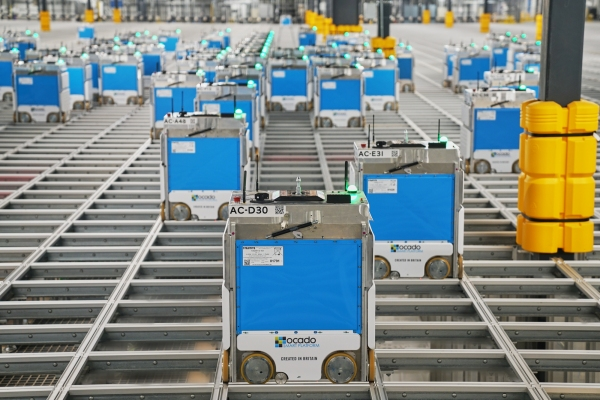 photo of Kroger launches its first Ocado-powered 'shed', a massive, robot-filled fulfillment center in Ohio image