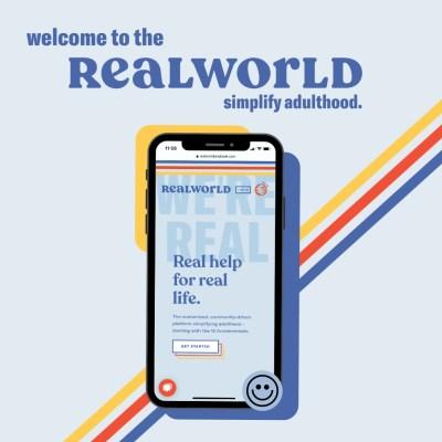 Realworld raises 3.4M to help Gen Z navigate adulthood