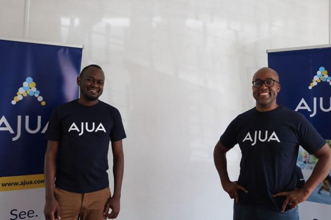 Teddy Ogallo (Fundador, WayaWaya) y Kenfield Griffith (CEO, Ajua)