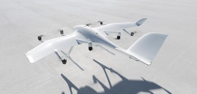 Wingcopter представляет дрон с тройным сбросом для создания «логистических магистралей в небе».