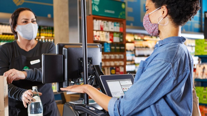 Amazon is bringing its Amazon One palm scanner to select Whole Foods as a payment option