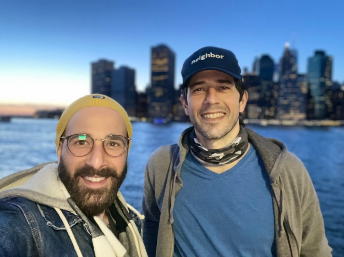 Per Diem founders Doron Segal and Tomer Molovinsky