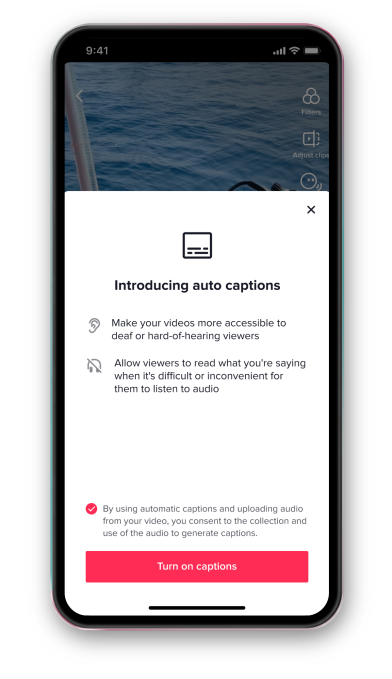 TikTok adds automatic captions to make videos accessible to hard of hearing and deaf people – TechCrunch