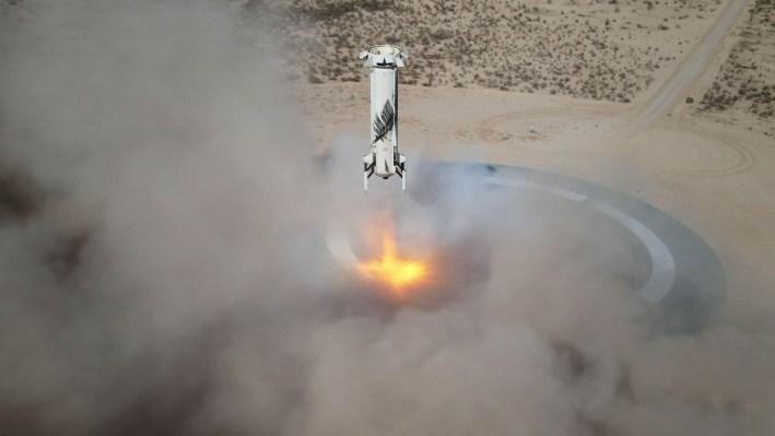 Blue Origin will run an 'astronaut rehearsal' throughout a launch this week to prep for human spaceflight thumbnail