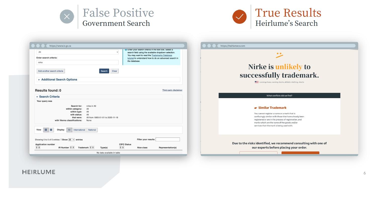 Heirlume-Trademark-Search